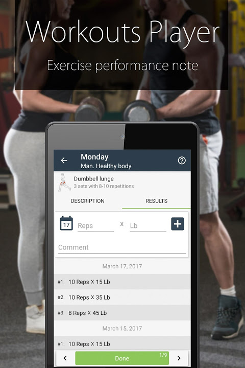 Fitness Coach FitProSport 4.54 Screen 7