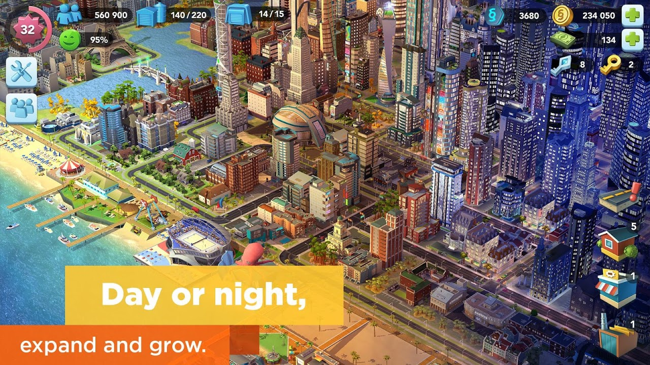 Android SimCity BuildIt Screen 3