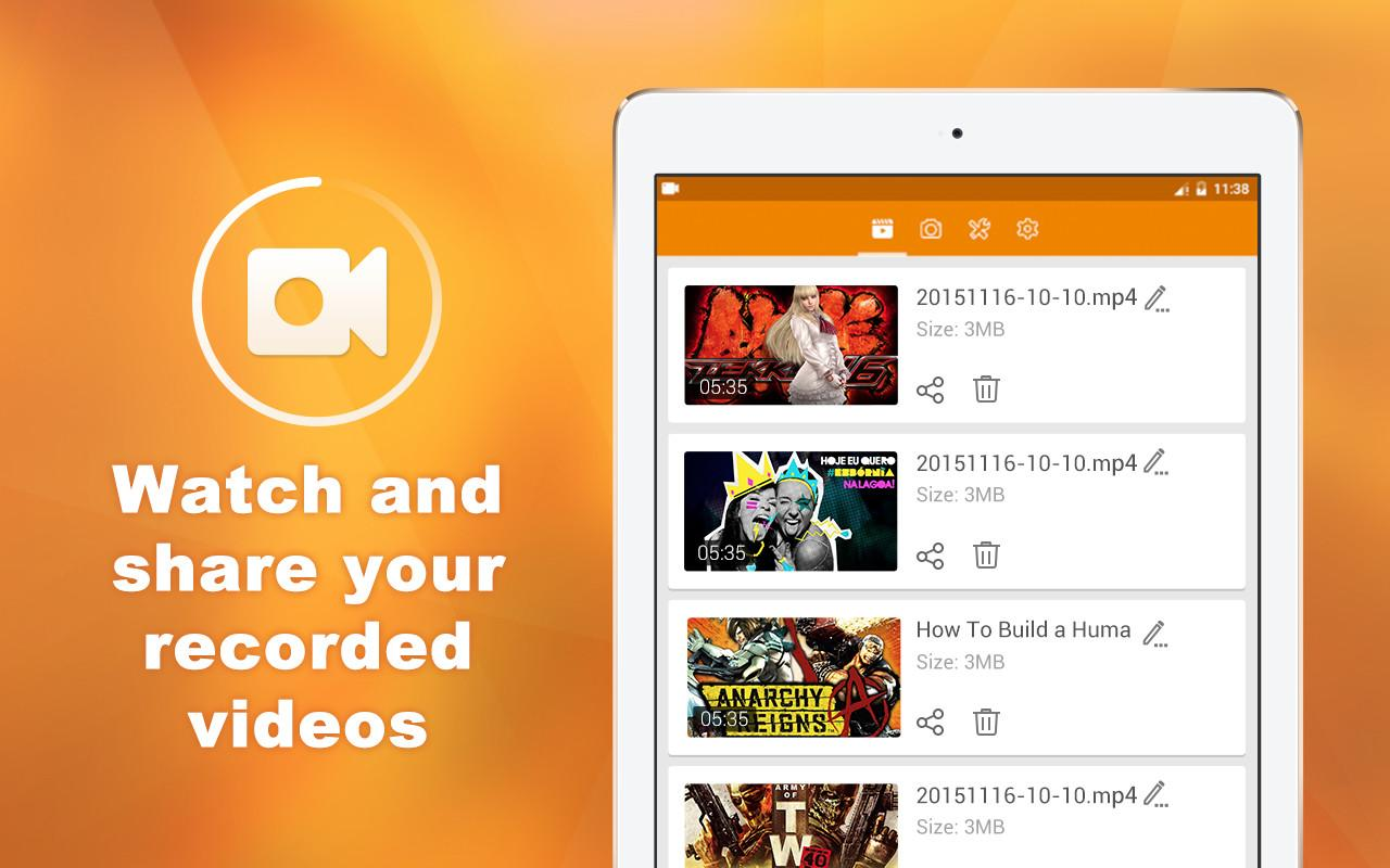 DU Recorder � Screen Recorder & Video Editor 1.7.5.2 Screen 2