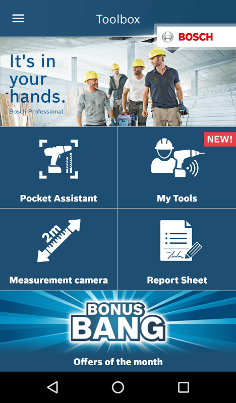Android Bosch Toolbox Screen 4