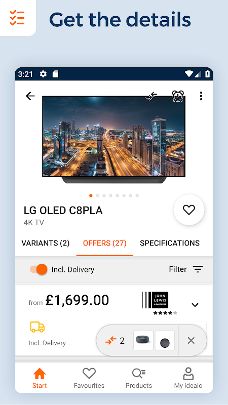 idealo - Price Comparison & Mobile Shopping App 11.2.1-BETA Screen 3