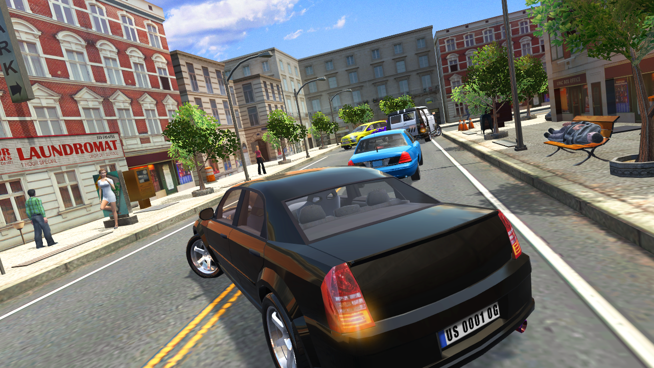 Urban Car Simulator 1.2.2 Screen 1