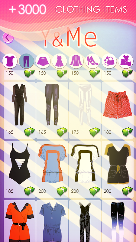 Android World of Fashion - Dress Up Screen 1