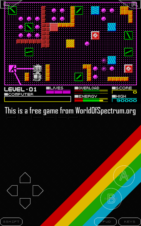 Android Speccy - ZX Spectrum Emulator Screen 22