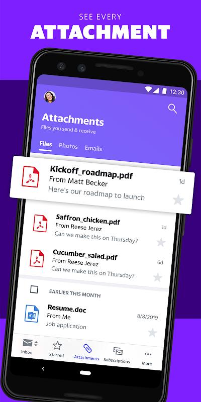Yahoo Mail - Stay Organised 6.0.12 Screen 9