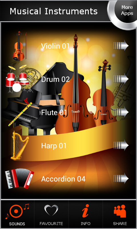 Musical Instruments 1.8 Screen 3