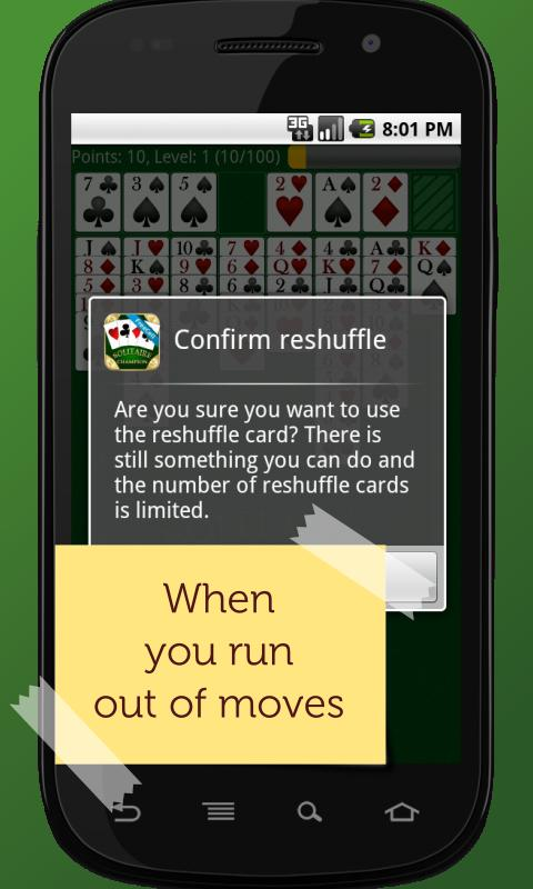 FreeCell Solitaire Champion 2.1.1 Screen 1