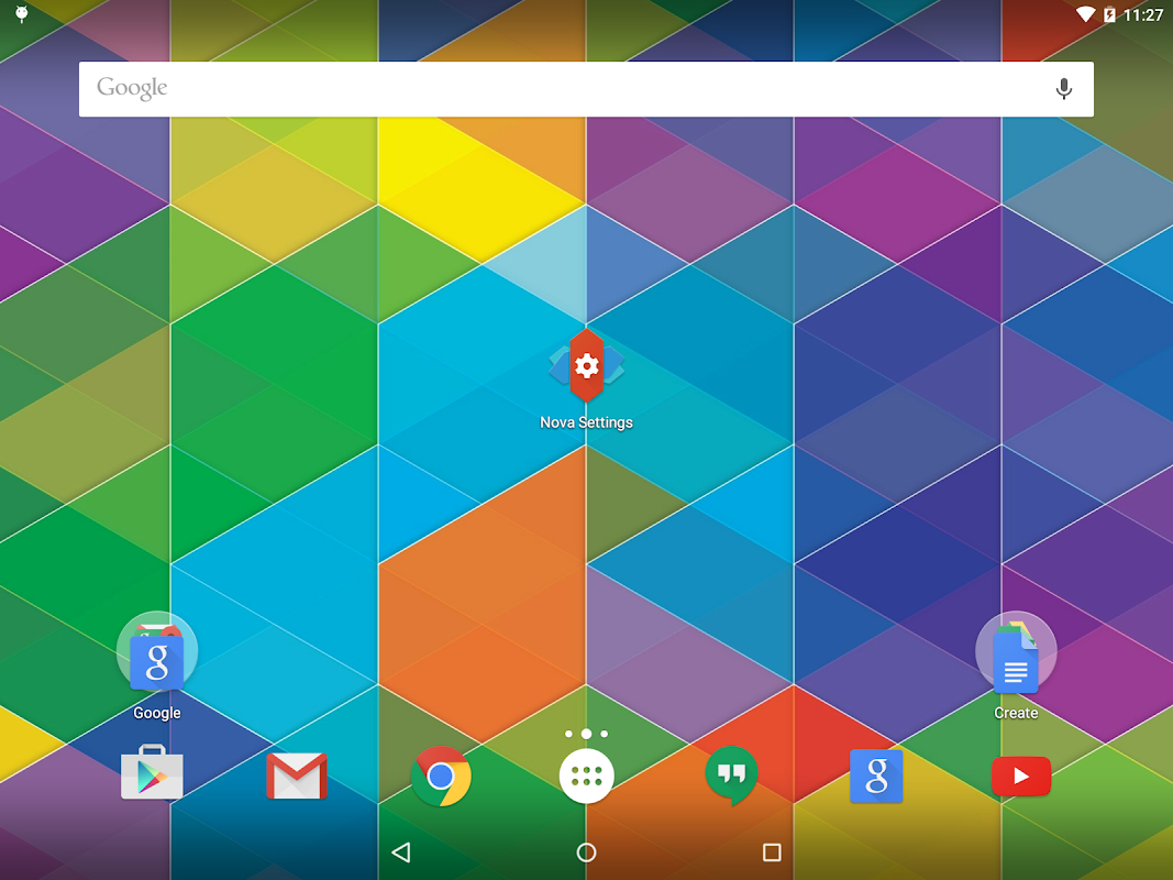 Nova Launcher 5.0.1 Screen 6