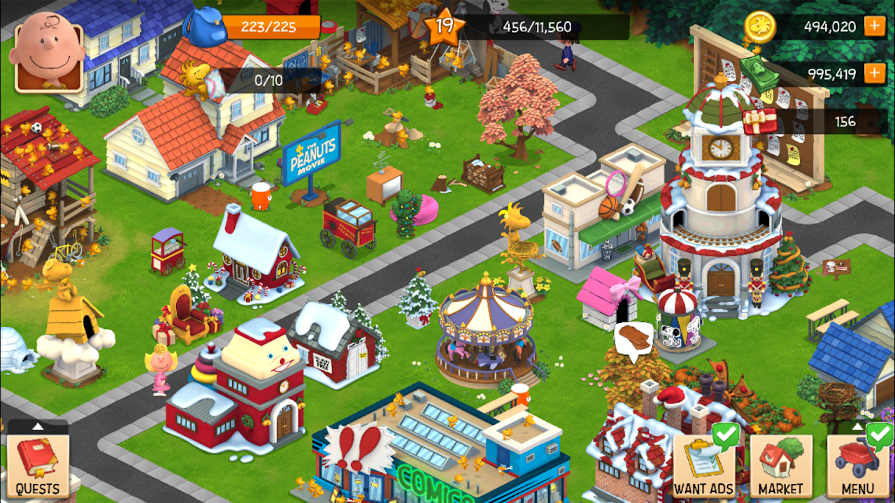 Snoopy's Town Tale - City Building Simulator 3.3.9 Screen 8