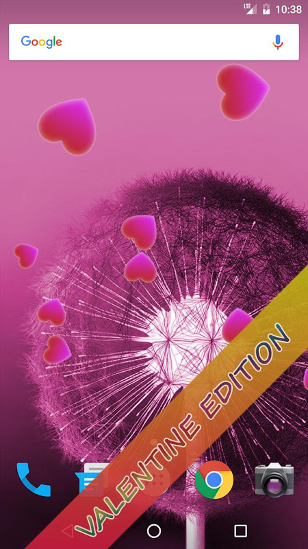 Android Dandelion Live Wallpaper Screen 5