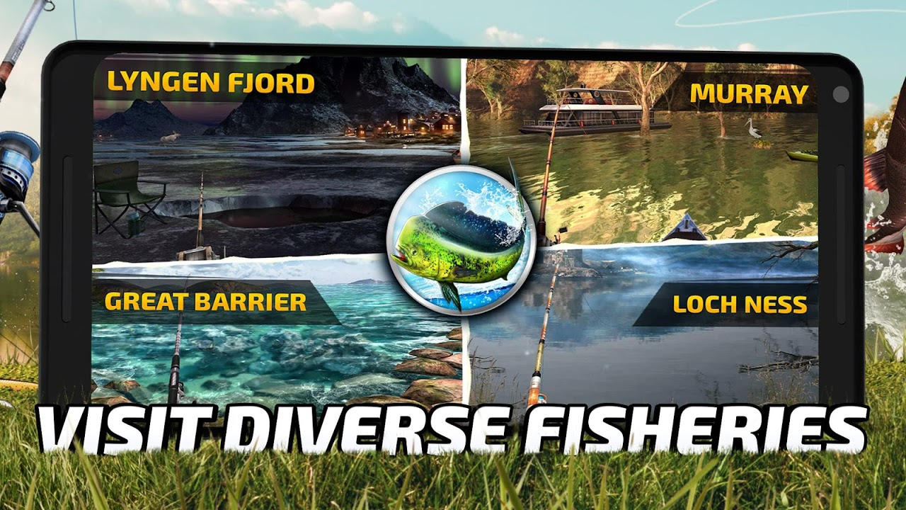 Fishing Clash: Catching Fish Game. Hunting Fish 3D 1.0.45 Screen 1