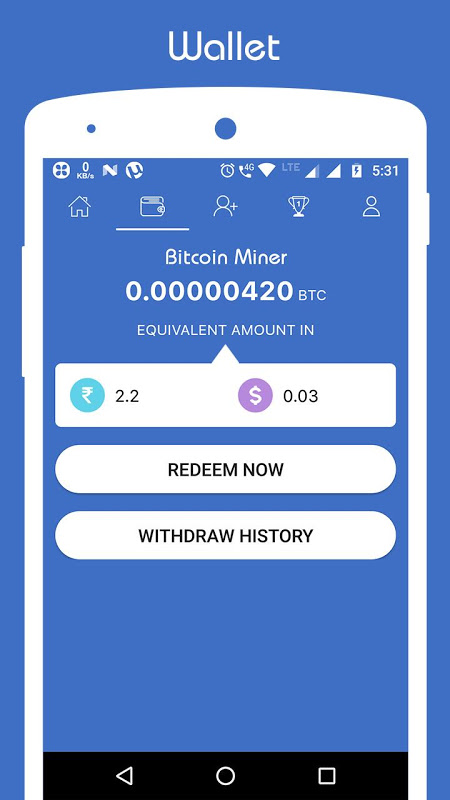 Free Bitcoin Miner - Earn BTC 2 3 APK Download by VistaGain