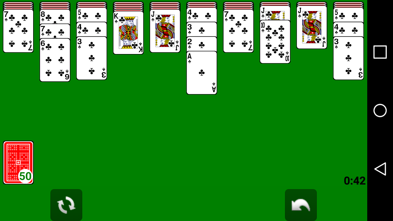 Solitaire 1.1.2 Screen 4