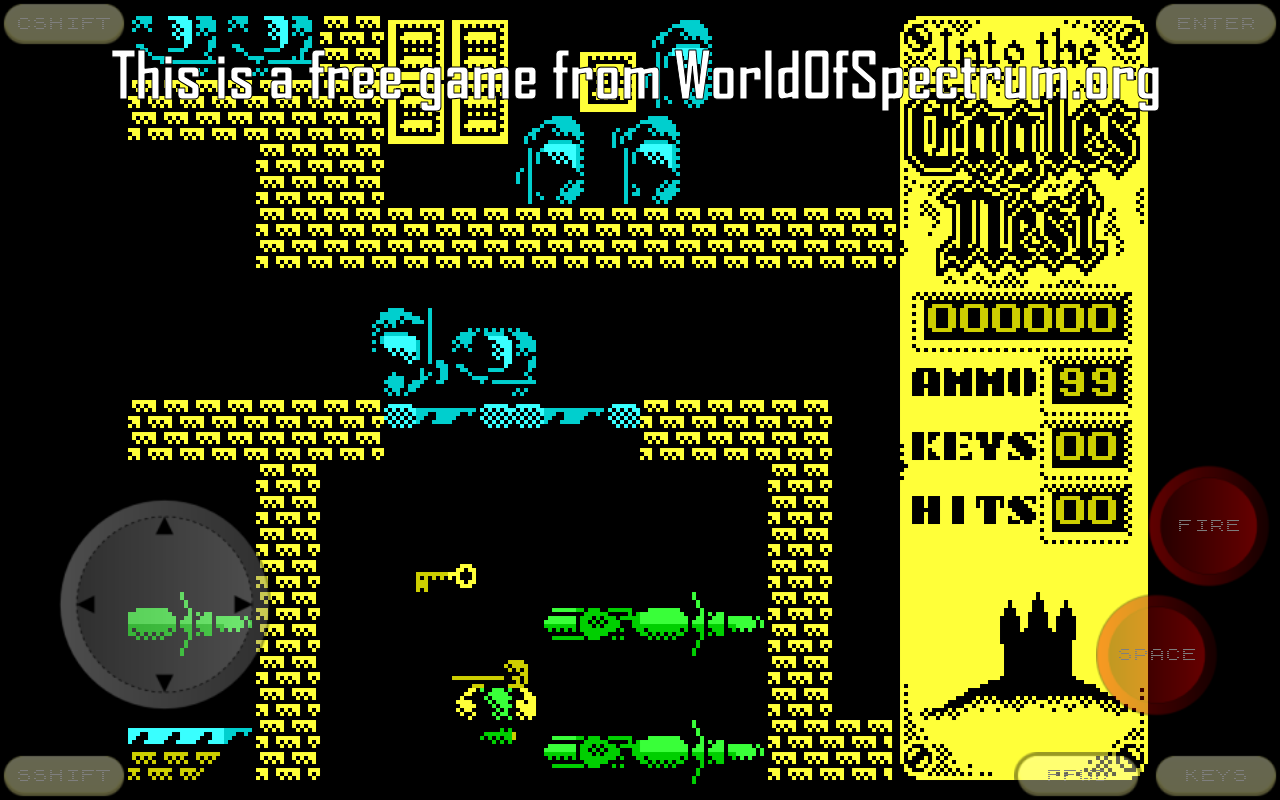 Android Speccy - ZX Spectrum Emulator Screen 12