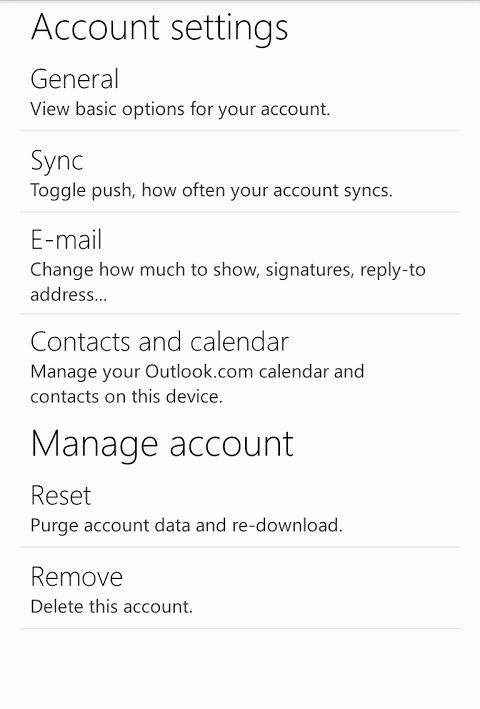 Outlook.com 7.8.2.12.49.9884 Screen 4
