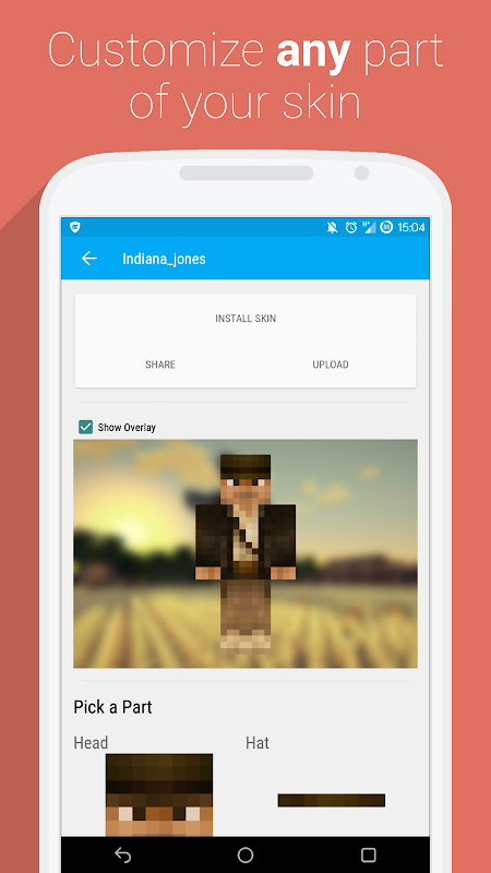 Android UTK.io for Minecraft PE Screen 2