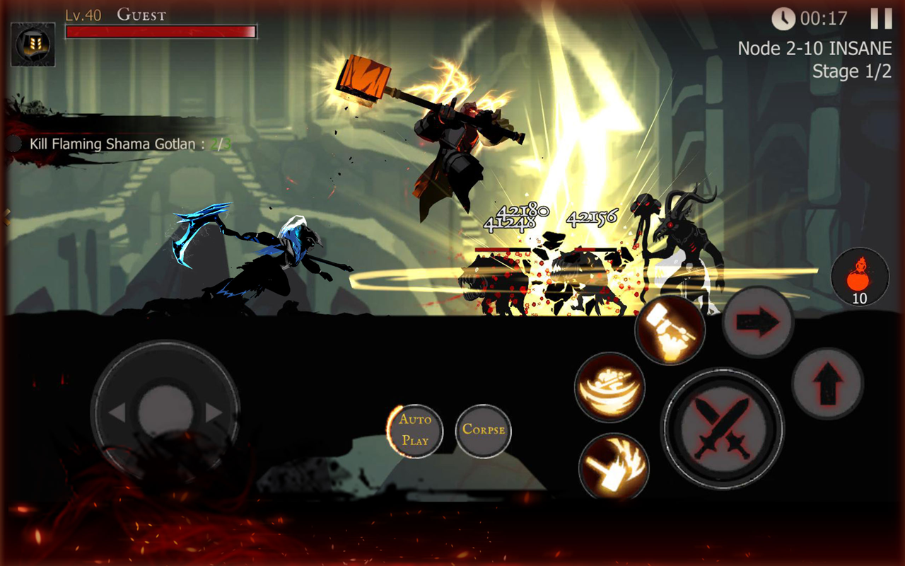 Shadow of Death: Dark Knight - Stickman Fighting 1.42.0.3 Screen 4