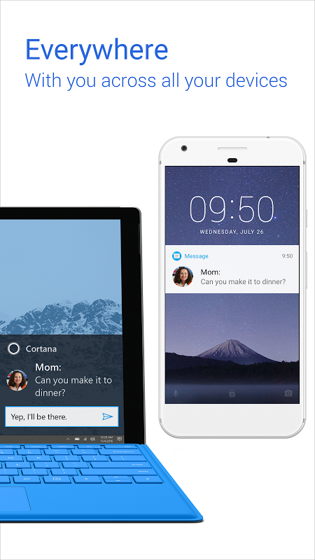 Android Cortana for Android (Unreleased) Screen 1