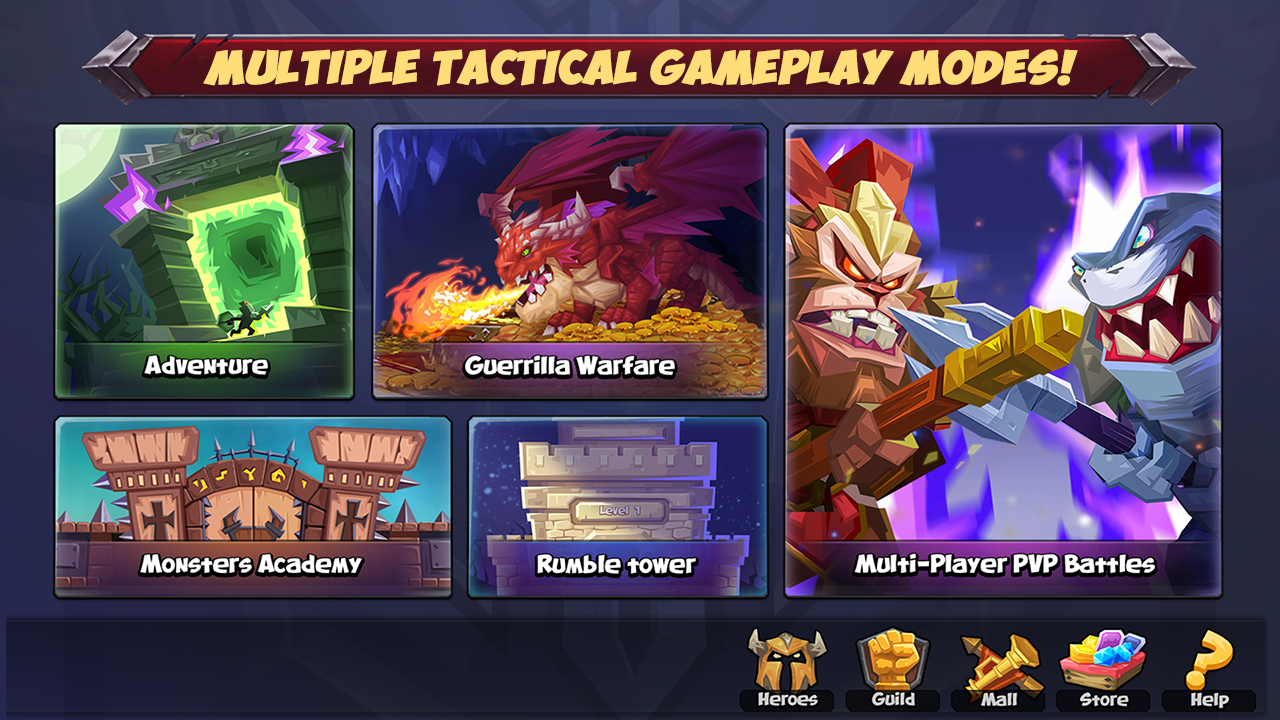 Android Tactical Monsters Rumble Arena - Tactic & Strategy Screen 10
