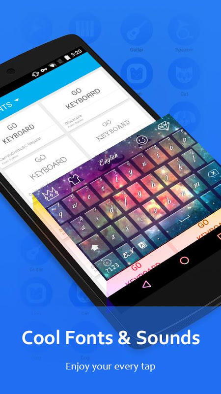 Android GO Keyboard - Emoji, Sticker Screen 5