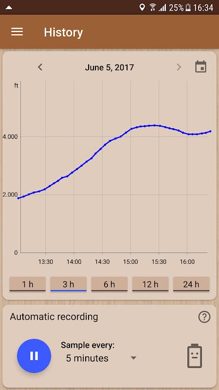 Accurate Altimeter PRO 2.2.0 beta2 (hacky® edition) Screen 2