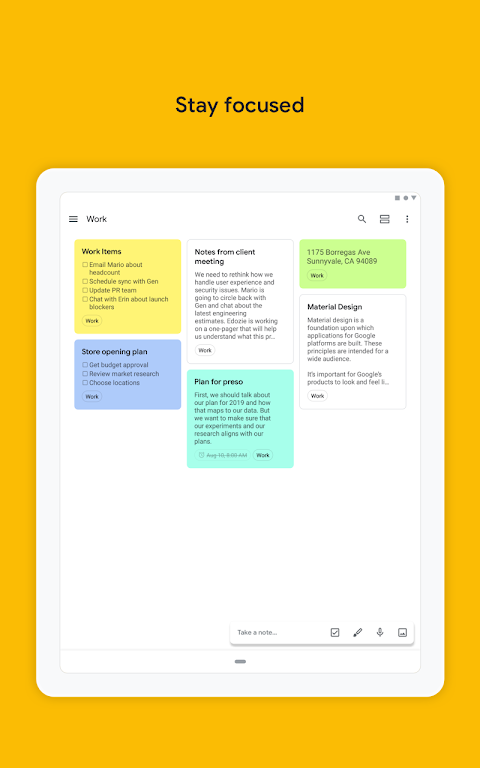 Google Keep - Notes and Lists 5.0.441.03.40 Screen 14
