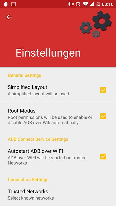 ADB Connect 0.6.0 Screen 2
