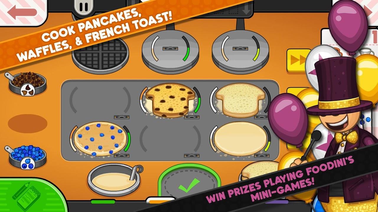 Papa's Pancakeria To Go! 1.0.0 Screen 2