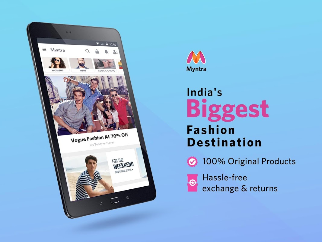 Android Myntra Online Shopping App Screen 10