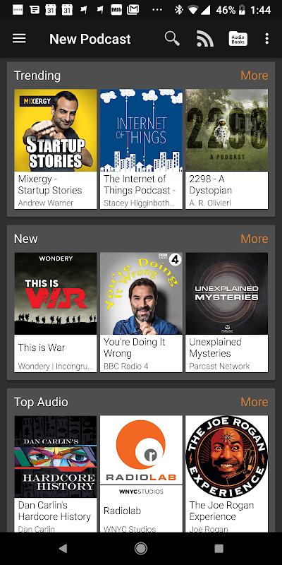 Podcast Addict 4.4 Screen 3