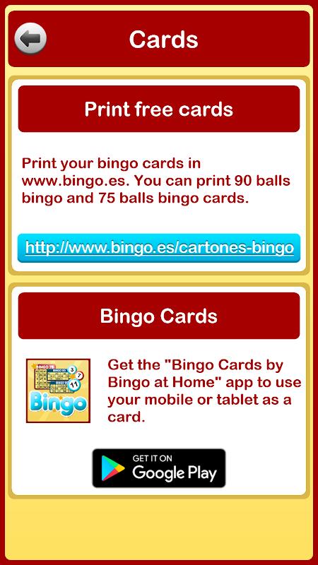 Bingo at Home 3.3.0 Screen 5