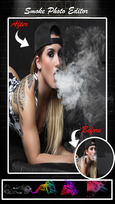 Smoke Photo Editor - Real Smoke Effect On Photo 1.1 Screen 1