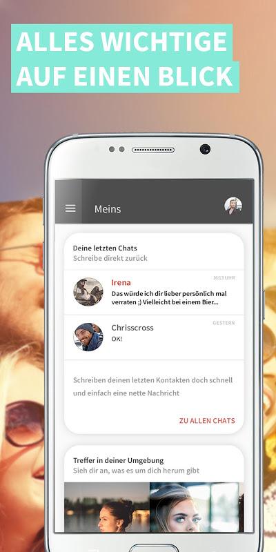 yoomee - Flirt Dating Chat App J19.M3.T11.R1 Screen 1
