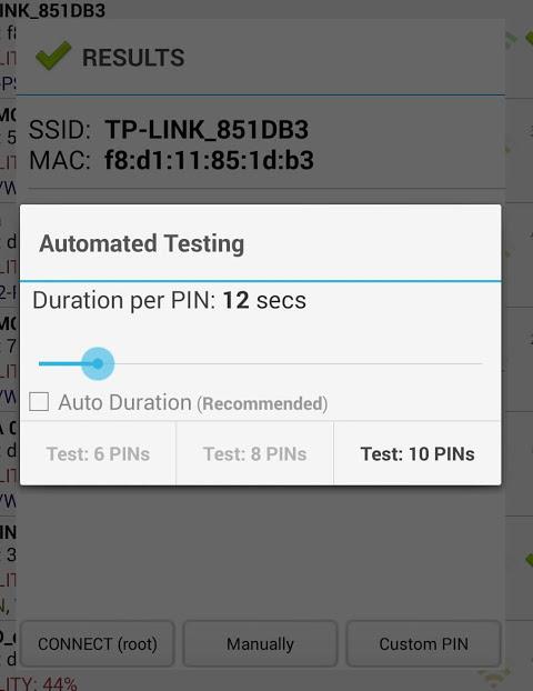 Wifi WPS Plus 3.2 Screen 3