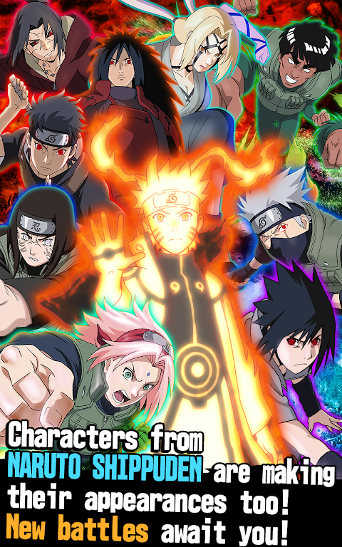 Android Ultimate Ninja Blazing Screen 2