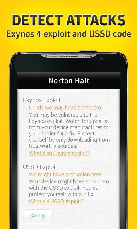 Norton Halt exploit defender 6.4.0.236 Screen 11