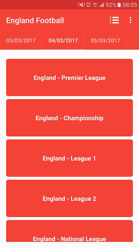 English Premier League 3.0 Screen 1