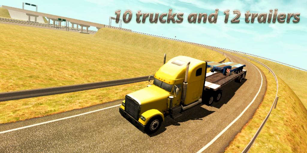 Android Truck Simulator : Europe Screen 4