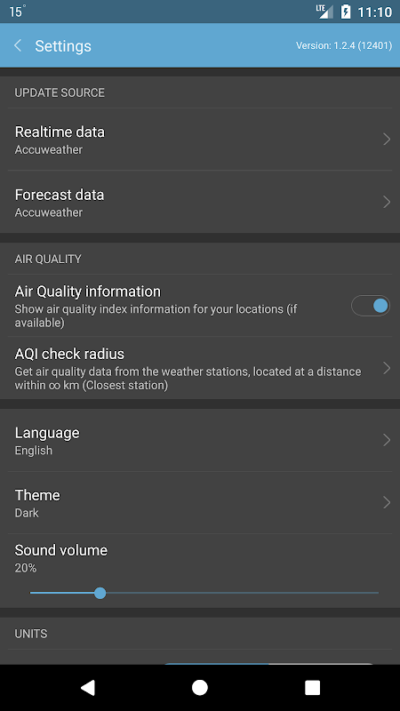 Weather Mate (Weather M8) 1.3.9 Screen 7