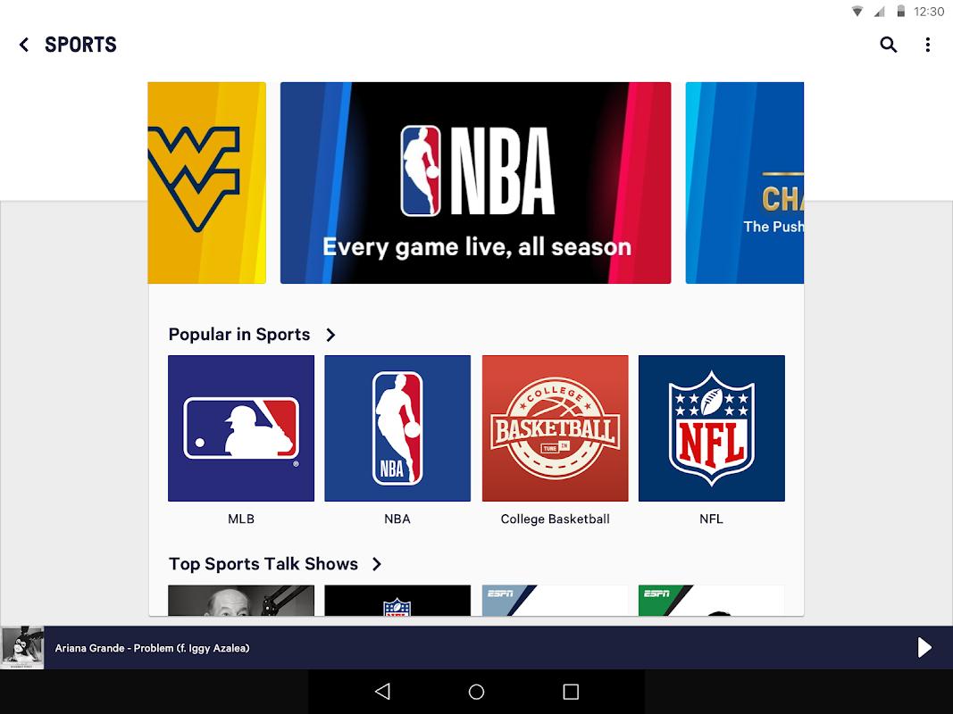 Android TuneIn Radio Screen 5