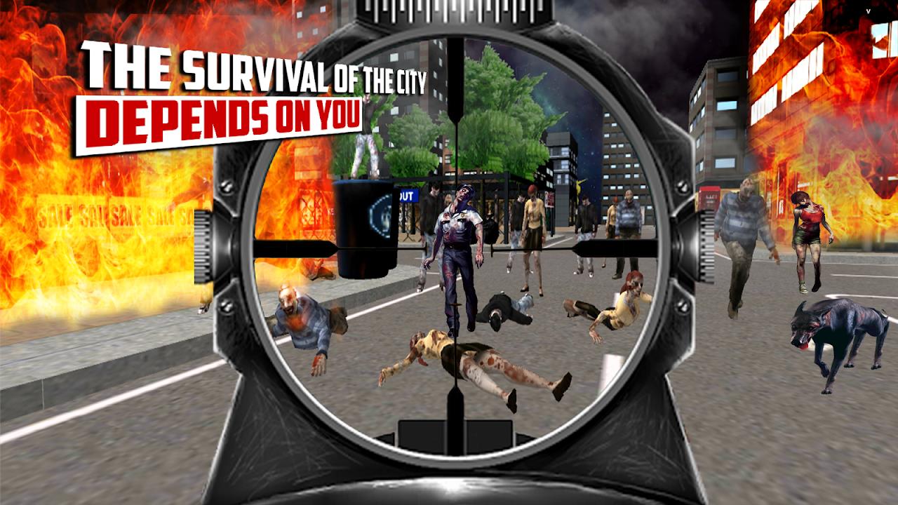 City Hunter 3D Zombie Killer 1.0 Screen 1