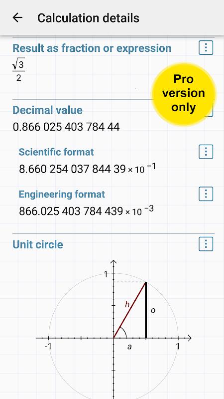 HiPER Scientific Calculator 6.1 Screen 5