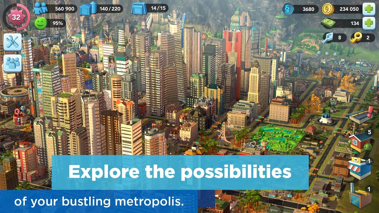 Android SimCity BuildIt Screen 4
