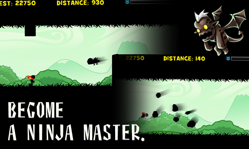 Android Ninja: Shadow Rush Screen 3