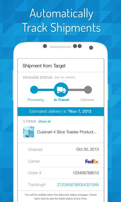 EasilyDo Smart Assistant 3.9.3 Screen 3