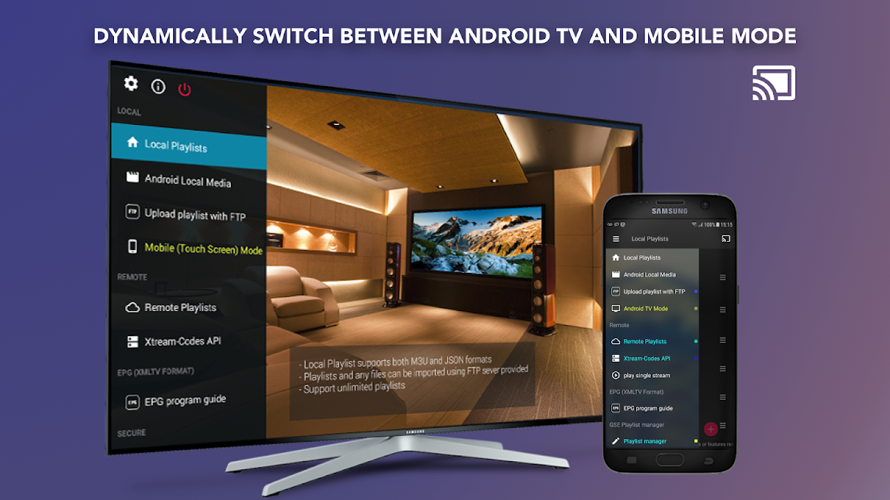 GSE SMART IPTV (Android & Android TV) 6.4 Screen 2