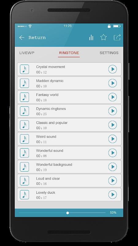 Android Super Popular Ringtone Ranking Screen 4