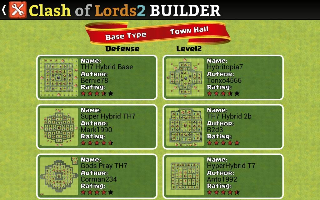 Android Clash of Lords 2 Builder Screen 12