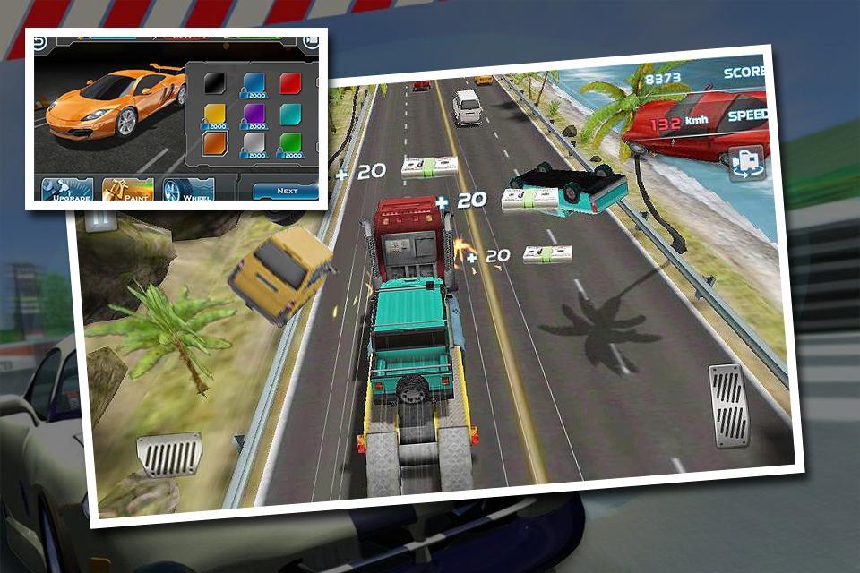 Turbo Car Traffic Racing 1.0 Screen 1