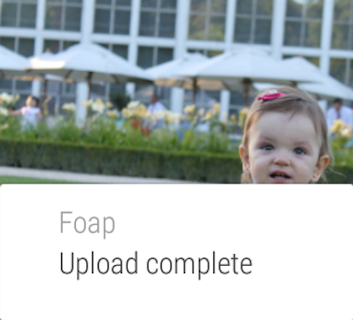 Android Foap - sell your photos Screen 8